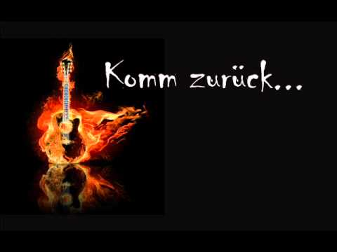 Komm zurück - Original Song by Marcus