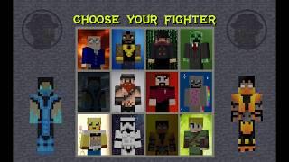 Mortal Minekraft - Minecraft / Mortal Kombat