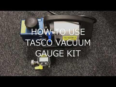 TA142MD Mini Digital Vacuum Gauge Kit