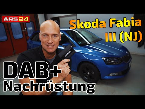 DAB+ Nachrüstung im Skoda Fabia 5J | Dension DAB+U Interface | ARS24