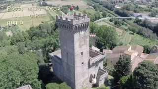 preview picture of video 'Rocca del Brunelleschi - Vicopisano Pisa. Must See Sights italy - riprese aeree drone aereomodello'