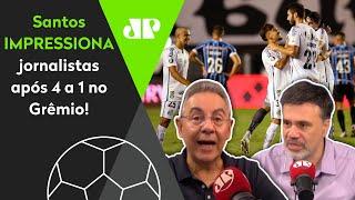 'Pela bilionésima vez, Santos merece nossos aplausos'