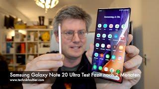 Samsung Galaxy Note 20 Ultra Test Fazit nach 2 Monaten