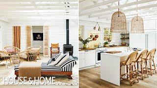 Cottage Makeover: A Breezy & Boho Getaway