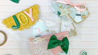 Bag Topper Ideas With Doilies And Circles