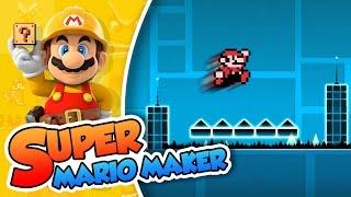 Mariometry Dash!! | Super Mario Maker (60fps)