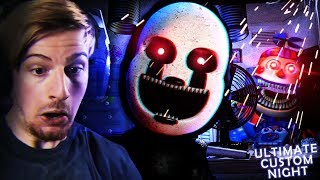 THESE ANIMATRONICS CAN'T STOP ME!! (40/20 Mode WIN) || FNAF: Ultimate Custom Night