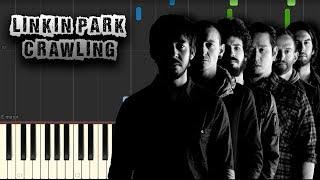 Linkin Park - Crawling - [Piano Tutorial] (Synthesia) (Download MIDI + PDF Scores)