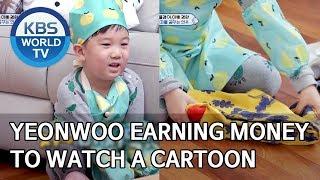 Yeonwoo earning money to watch a cartoon [The Return of Superman/2020.03.15]