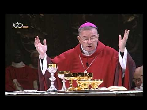 Messe pour l'élection du Saint-Père et l'entrée en conclave