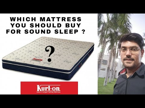 🔥 Kurlon Angelica Box Top Spring Mattress 2018 Review | Best Mattress to Buy for Sound Sleep 😴?