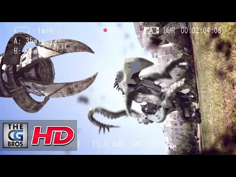 """CGI VFX Short Film """"Alien Disrupts Marriage Proposal"""" – by Omry Fisher"""