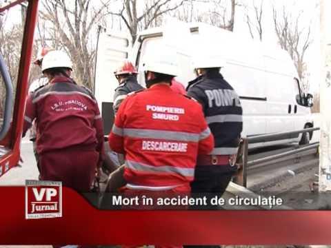 Mort în accident de circulație