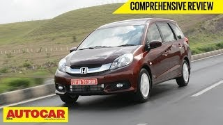 Honda Mobilio Reviews Price Specifications Mileage Mouthshut