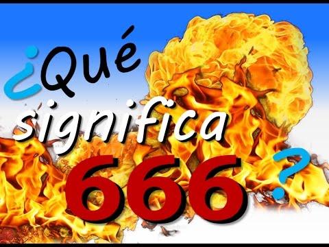 ¿Qué significa 666?