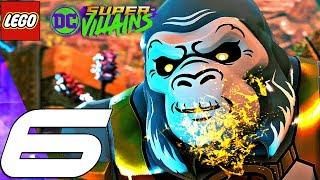 LEGO DC Super Villains - Gameplay Walkthrough Part 6 - Gorilla Boss Fight (Full Game)
