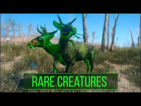 Fallout 4: 5 Rare and Interesting Creature Types You May Have Missed - Fallout 4 Secrets (Part 3)