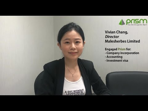 Prism client - Engaged Company incorporation/Accounting/Investment visa service || Testimonial