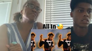 Mom React To NBA Youngboy - All In😳 (Official Video)