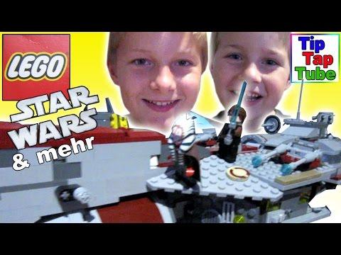 #LEGO #StarWars Spielzeug Republikanische Fregatte und mehr - Kanal für Kinder / Kinderkanal