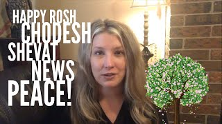 Prophetic News Peace:  Jim Acosta, Apple 🍎 Jobs, Rosh Chodesh Shevat!