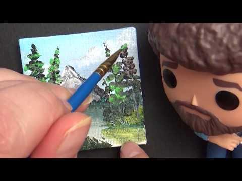 Painting like Bob Ross Tiny Version