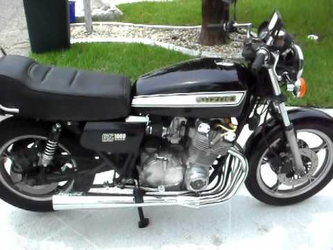 Suzuki GS 1000 E fastest motorcycle  in the world in 1979 open header