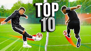 TOP 10 GOALS YOU WON'T BELIEVE 😱 | F2FREESTYLERS | 2020