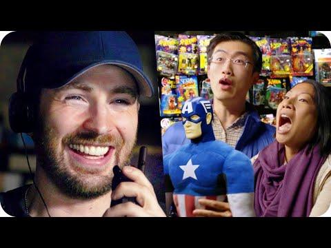 Captain America Pranks his Fans