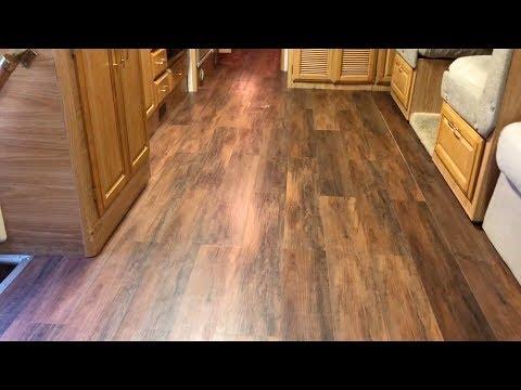 Diy Rv Laminate Flooring Install Custom Mods From Start To Finish