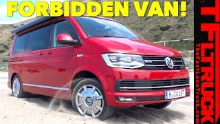 The New VW California Is The Coolest Van You Can