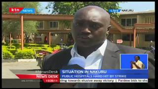 KTN Newdesk - 14th December 2016 - How Nakuru County is tackling health crisis