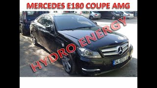 Mercedes C 180 coupe AMG hidrojen yakıt sistem montajı