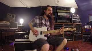 "Alberto Rigoni ""Overloaded"" - Simone Mularoni (DGM) Guitar Recording Sessions"