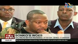 Governor Sonko seeks medical attention, moved to Kenyatta National Hospital