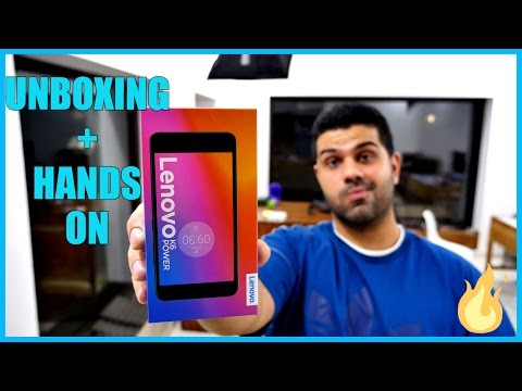 Lenovo K6 Power Unboxing and First Look