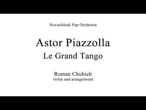 "Astor Piazzolla \""Le Grand Tango\"". Novosibirsk philarmonic."