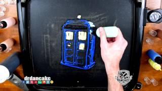 Tardis (Doctor Who) Pancake Art