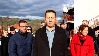 Асфалтирање на локален пат во населба Мечковци