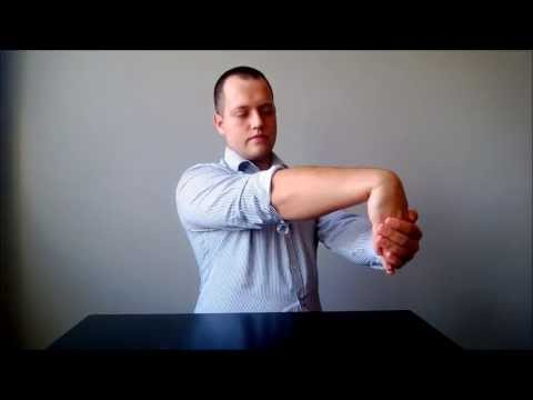 Video Tennis Elbow series: STRETCHING BASICS - home physical therapy treatment (part 4/10)