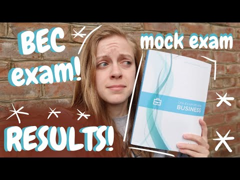 BEC: Mock Exam, Real Exam, & Results! - YouTube