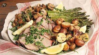 Slow Roasted Pork Roast with Veggies   Episode 1242