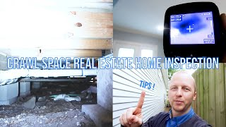 Crawl Space Real Estate Home Inspection