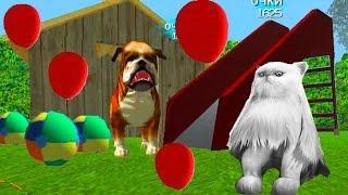 Играем в СИМУЛЯТОР КОТА #7 мульт-игра про котят развлекательное видео для детей