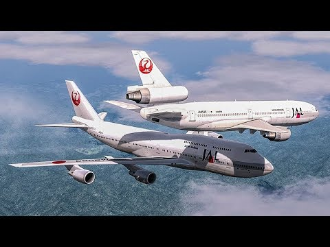Near Collision Over Japan   Boeing 747 Almost Crash with a DC-10   Japan Airlines Mid-Air Incident