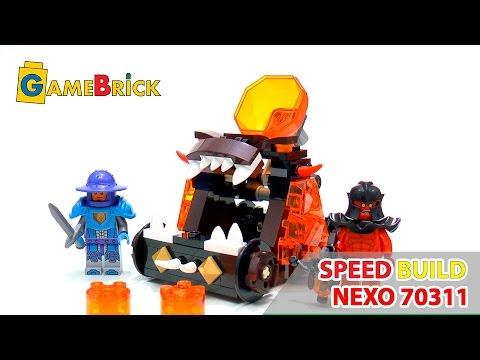 Vidéo LEGO Nexo Knights 70311 : La catapulte du Chaos