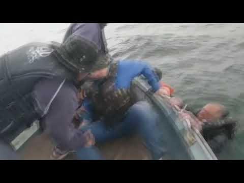 Polícias ambientais flagraram momento exato do resgate aos homens