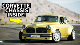 700hp Volvo Amazon-Bodied Corvette!?