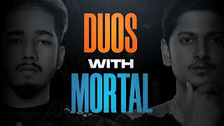 Duos with @MortaL | Fun Pubg Mobile Highlight