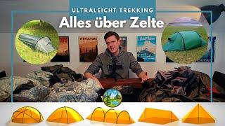 Alles über Trekking Zelte - Ultraleicht Empfehlungen 2021